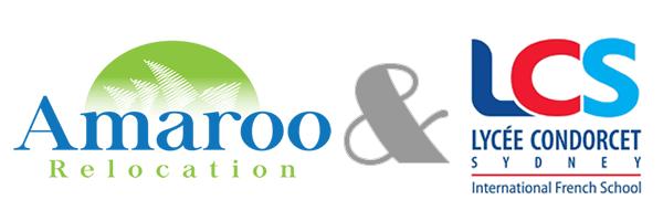 Amaroo Relocation et Lycee Francais de Sydney partenaires